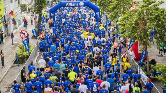La Allianz 10K de La Luz se tomó las calles de Cali