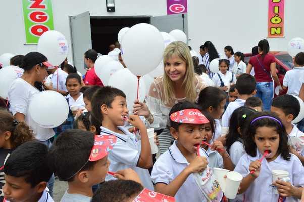 120 mil niños participaron de la 'Cepillatón' en los 42 municipios del Valle del Cauca