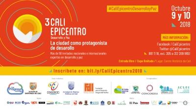 """""""Cali Epicentro Desarrollo y Paz"""" esta semana en el centro histórico"""