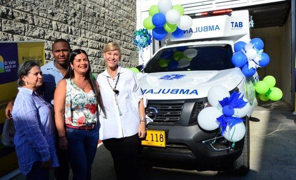 Con ambulancia nueva hospital San Roque de Guacarí fortalece los servicios para sus pacientes