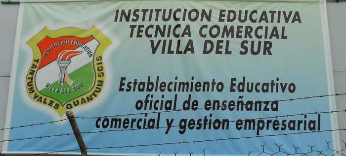 La institución educativa villa del sur