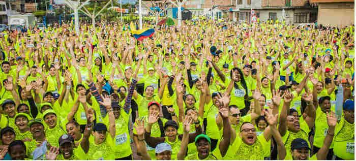 Más de 5.000 corredores atravesarán el sector de Siloé con la carrera '5k Ladera' en el Cali SportFest 2018