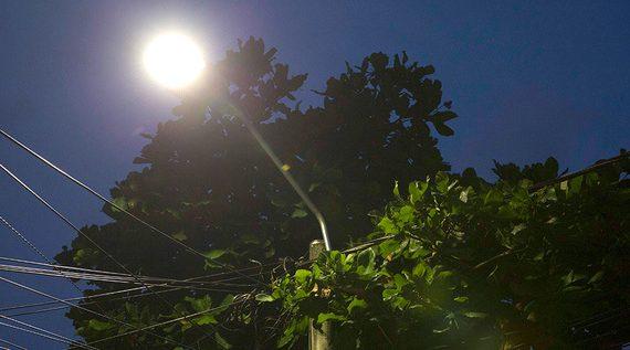 Meléndez es hoy un barrio más seguro con la modernización de la iluminación en LED
