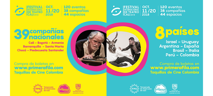 Ya llega el Festival Internacional de Teatro de Cali