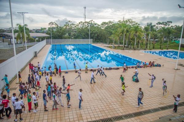 Obras del polideportivo El Cristal, en Buenaventura, serán entregadas en dos semanas