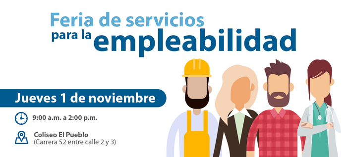 ¿Qué encontrará en la Feria de servicios para la empleabilidad?