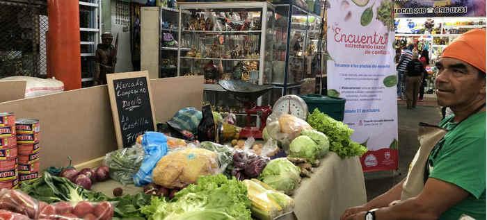 Se fortalecen las plazas de mercados y los productores rurales en Cali