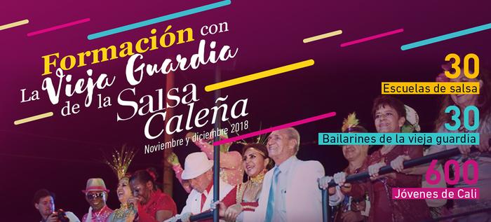600 jóvenes de Cali se formarán en estilo de baile caleño con 30 bailarines de la vieja guardia