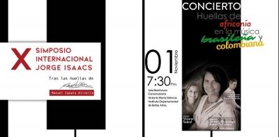 Concierto Huellas de africanía en la música brasileña y colombiana