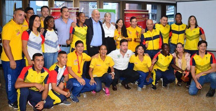 Deportistas destacados en Juegos Olímpicos de la Juventud y Mundial de Patinaje Artístico fueron exaltados por la Gobernación del Valle