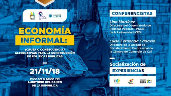 Foto sobre economía informal en Icesi