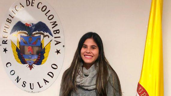 Egresada de Icesi, en Consulado General de Colombia en Houston
