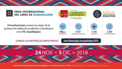 Universidades de Cali en la Feria del Libro de Guadalajara, México