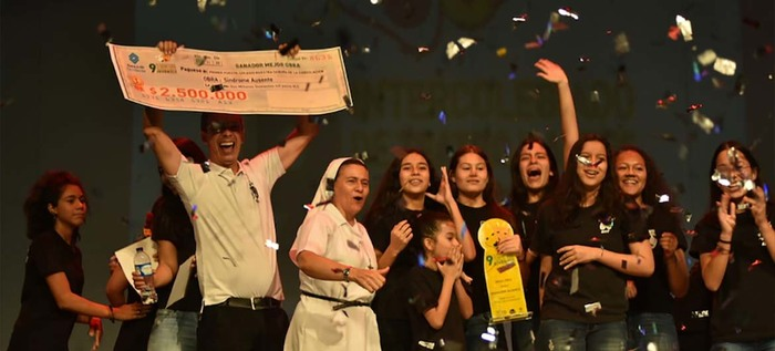 Estos fueron los jóvenes ganadores del noveno Intercolegiado de teatro y artes escénicas