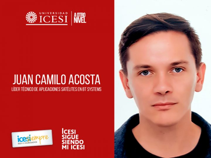 Icesista Juan Camilo Acosta, líder técnico en BT Systems