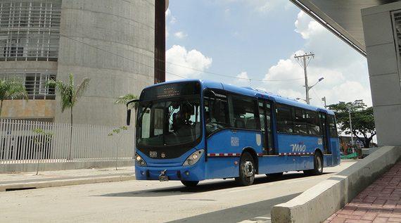 Rutas del MIO P21A y P14A ajustan sus recorridos para mejorar conectividad de los usuarios