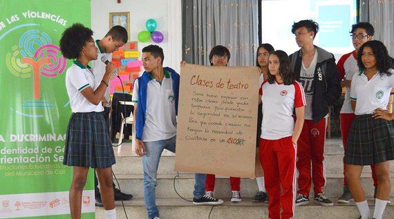 Se reunieron en Cali estudiantes líderes por la equidad de género