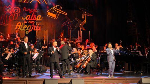 Sinfonía de salsa y baile en el lanzamiento de la 61 Feria de Cali