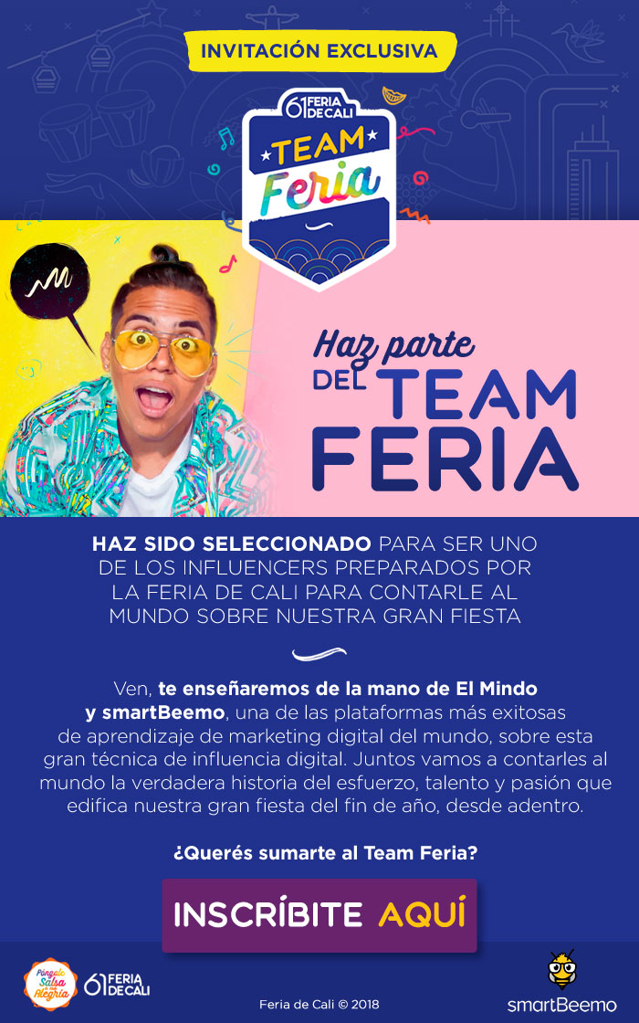 convocatoria team feria