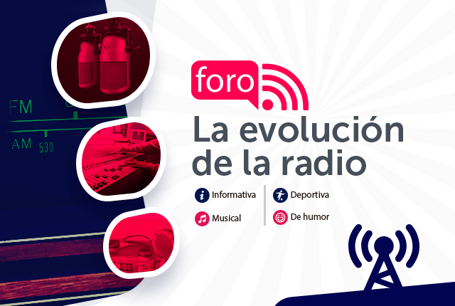 foro la evolución de la radio