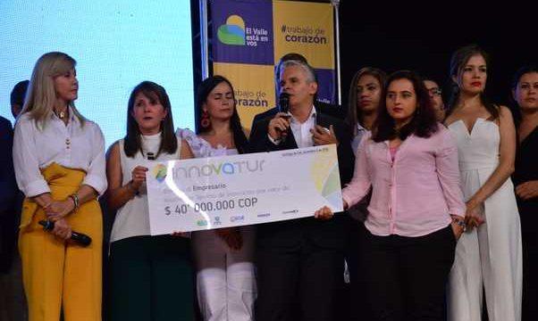40 empresarios del Valle del Cauca recibieron reconocimientos en los premios Innovatur