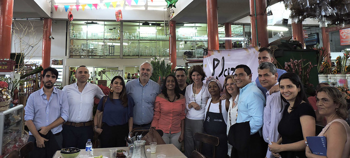 Alcaldía y Cuso International haran estudio socioeconómico de la plaza de mercado Alameda
