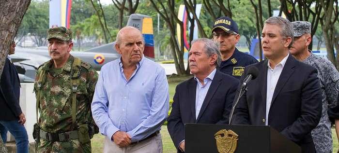 Alcalde Armitage anuncia llegada de 200 policías más para Cali, tras consejo de seguridad con el presidente Duque