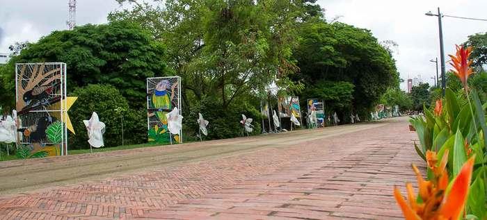 Bachetón rehabilitó la avenida 2 N, vía paralela al parque lineal