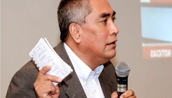 Luis Alfonso Mena en modo historiador