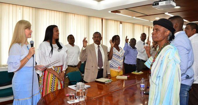Tomaron posesión los 30 representantes de la consultiva afro del Valle del Cauca