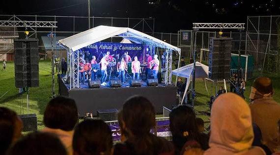 La Leonera dio inicio a la Feria Rural y Comunera