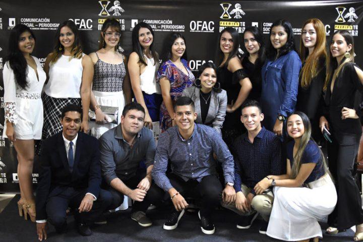 Reconocimientos a jóvenes periodistas de la Universidad Autónoma