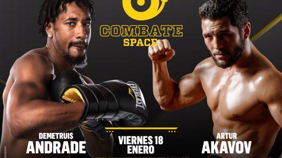 En directo, título mundial de la OMB entre Demetrius Andrade y Artur Akavov