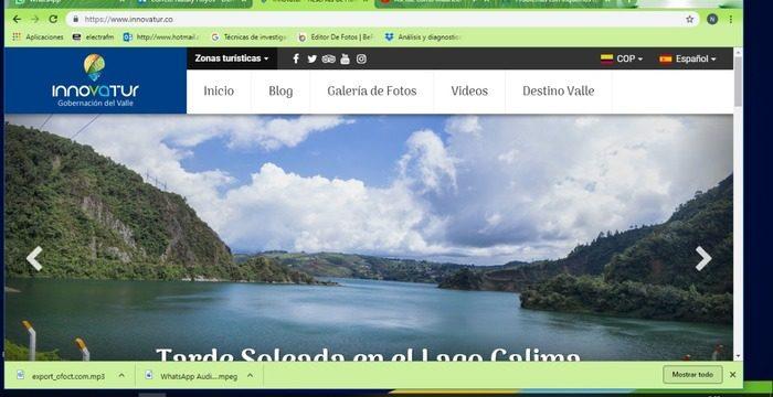 Innovatur presenta plataforma web para ofertar servicios turísticos del Valle