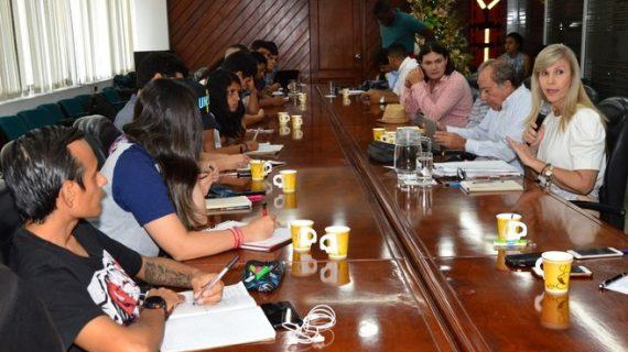 Se mantienen mesas de diálogo con estudiantes de Univalle