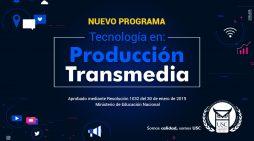 La USC lanza su nuevo programa de Tecnología en Producción Transmedia