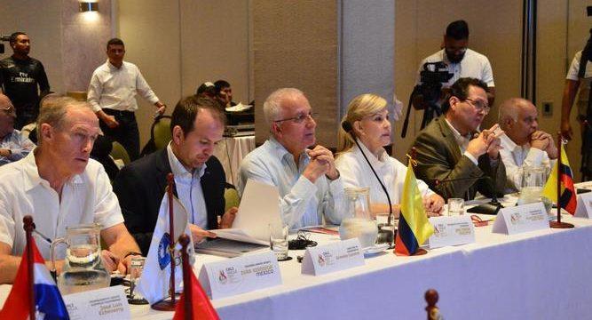 Delegados de Panam Sports evalúan escenarios deportivos del Valle para los Juegos Panamericanos Sub 21