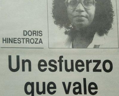 Doris Hinestroza, un esfuerzo que vale la pena