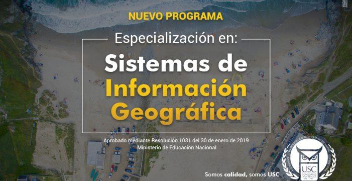 La Universidad Santiago de Cali innova en la formación geoespacial