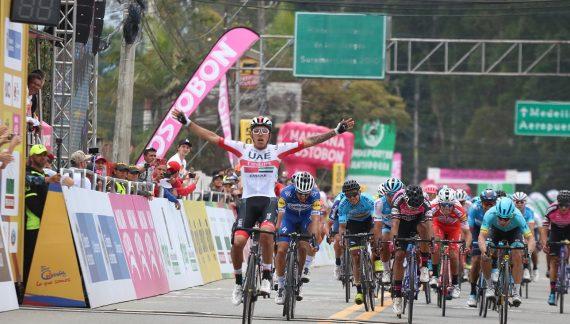 Molano vencedor en Llanogrande. 'Rigo' retorna al liderato del Tour Colombia 2.1