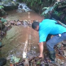 Comunidad de La Delfina conserva ejemplarmente la microcuenca de Los Tres Chorro