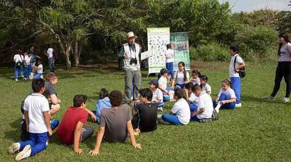 Dagma llevó educación ambiental al Ecoparque Río Pance