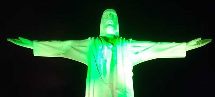 Estos fueron los atractivos turísticos que se iluminaron en Cali para conmemorar el día de San Patricio