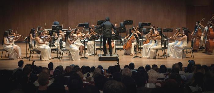 La Banda de Bellas Artes conmemora 90 años de la colonia japonesa en el Valle con el concierto 'Un sueño japonés'