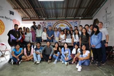 Reformas a la casa de paso del Cabildo Indígena Universitario