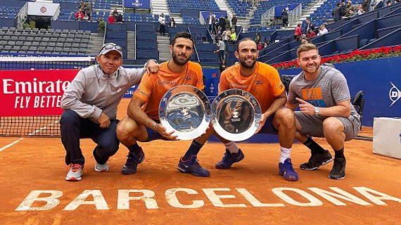 Juan Sebastián Cabal y Robert Farah son los condes de la arcilla del ATP de Barcelona
