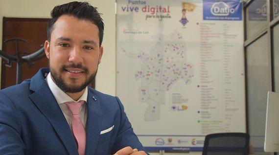 Nuevo director de Datic anuncia más zonas WiFi gratuitas para Cali