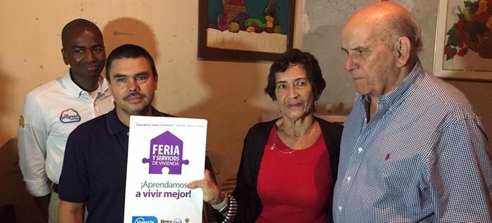 Mejoras de vivienda para los habitantes del barrio Mario Correa