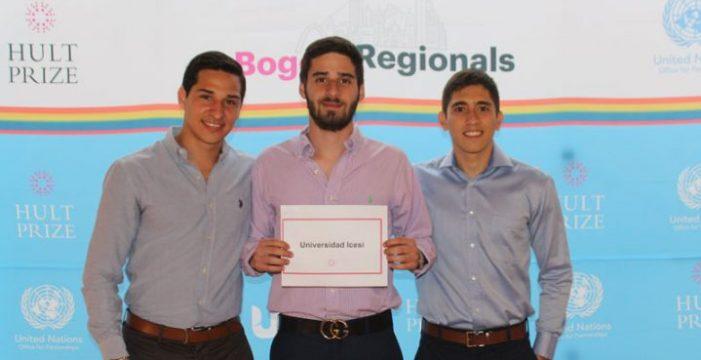 Icesi finalista en regionales Hult Prize