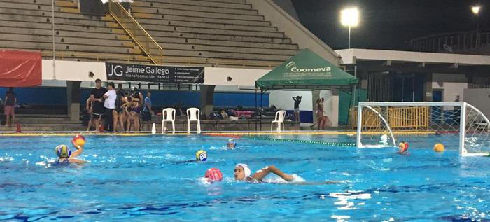 Los más importantes del Polo acuático de Colombia se toman las piscinas Hernando Botero Obyrne